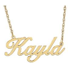 14 karat gold nameplate necklaces 14 karat gold cursive personalized name necklace jewels by