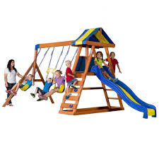 Backyard Gymnastics Equipment Playsets U0026 Swing Sets Parks Playsets U0026 Playhouses The Home Depot