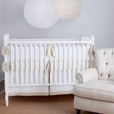 Crib Bedding Neutral Simplify Your Nursery With Tatum