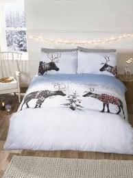 Christmas Duvet Cover Sets Reindeer Jumpers Bedding Range Single Double Or King Size