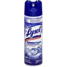 lysol power foam bathroom aerosol bathroom mildew remover lysol