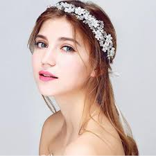 prom hair accessories handmade wedding hair accessories vintage tiaras silver flower