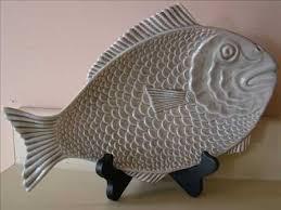 ceramic fish platter gray ceramic fish platter betchabooty