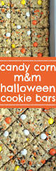 candy corn m u0026m halloween cookie bars candy corn halloween