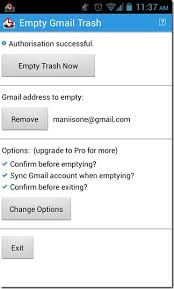delete all emails in your gmail trash folder from android - Empty Trash On Android