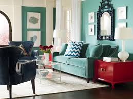 Blue Accent Chairs For Living Room by Living Room Living Room With Library In Blue Interior Wall