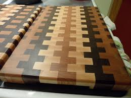 end grain cutting boards craig schriver woodworking
