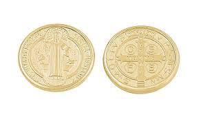 arras de oro arras matrimonio monedas chapa de oro san benito mod 427