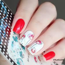 0 99 2 patterns sheet chic flower nail art water decals transfer