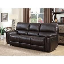 image of sofa member s buchanan top grain leather motion sofa sam s club