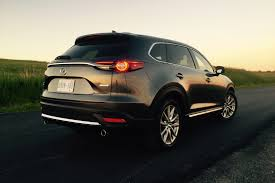 we u0027re driving a 2016 mazda cx 9 signature which is very expensive
