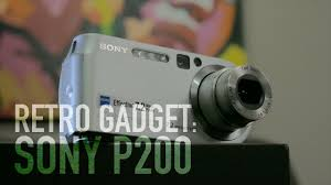 retro gadgets sony p200 unboxing and thoughts youtube