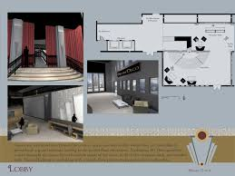 Art Deco Floor Plans Arcicad Projects By Nicole Dorsey At Coroflot Com