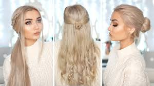 different hairstyles with extensions 3 cute easy hairstyles with hair extensions youtube