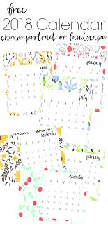 printable calendars free free 2018 printable calendars refresh living