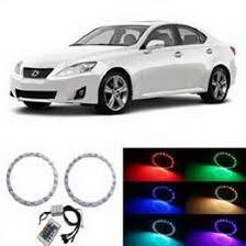 lexus color 08 13 lexus is250 is350 is f headlight rgb 7 color led eye kit