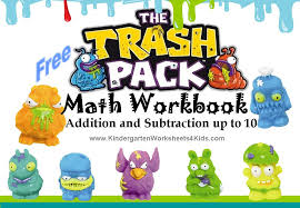 trash pack worksheets