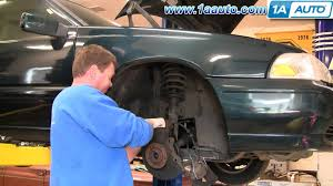 how to install replace front cv joint axle assembly volvo s70 98