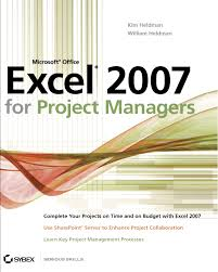 microsoft office excel 2007 for project managers amazon co uk