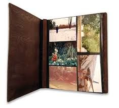 large photo album large leather photo album by weston leather