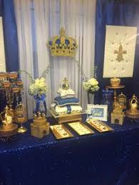baby shower prince theme royal prince baby shower white baby showers blue gold and royal