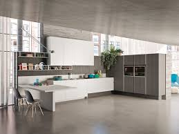 linear kitchen solid wood kitchens archiproducts