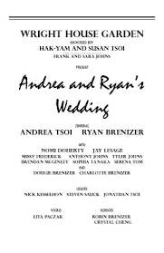 playbill wedding program great playbill program template gallery the best curriculum