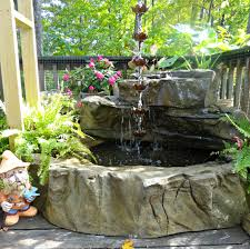 medium preformed patio garden ponds u0026 rock waterfall kits