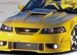1999 mustang accessories 1999 2004 ford mustang black widow 2 fiberglass ait racing