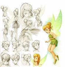 disney tinkerbell disney tinkerbell sketches