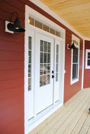 exterior countrylane red siding by james hardie black barn