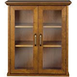 amazon com altra quinton point bookcase with glass doors inspire