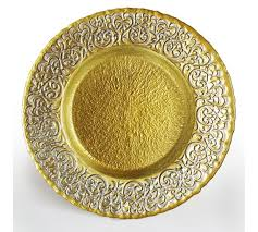 chargeit by baroque silver gold charger plate companies