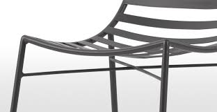 Outdoor Dining Chair 2 X Indra Dining Chairs Charcoal Made Com