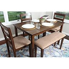 4 person table set amazon com 4 person 5 piece kitchen dining table set 1 table