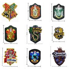 harry potter embroidery patches crest iron badge griffindor