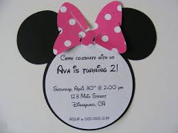 9 best images of minnie mouse head invitation template minnie