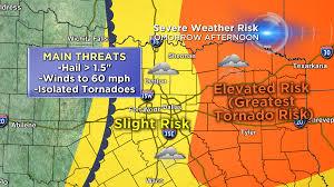 Texarkana Weather Radar Map Severe Weather Risk Today Cbs Dallas Fort Worth