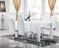 white dining room table extendable opus extending dining table keens furniture