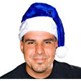 blue santa hat classic blue santa hat sports outdoors