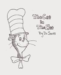 cat in the hat printable free coloring pages on art coloring pages