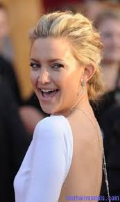 fashion forward hair up do color kate hudson wedding hooplas pinterest updo hair models