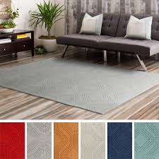 hand loomed oaks wool rug 8 u0027 x 10 u0027 overstock com shopping