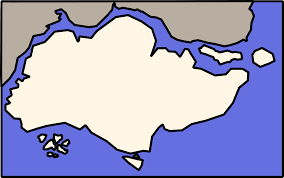 Map Of Singapore Clipart Simple Map Of Singapore