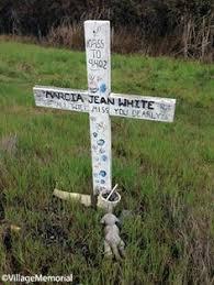 memorial crosses for roadside custom rustic cedar cross for roadside memorial sold rustic