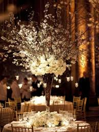 dramatic tall wedding centerpieces with rustic style crazyforus