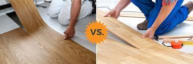 is vinyl flooring better than laminate complete guide to laminate vs vinyl flooring plank luxury