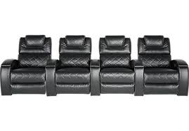 crescent valley contemporary reclining home theater sectional