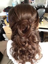 half up half down wedding hairstyle ideas for short hair brides