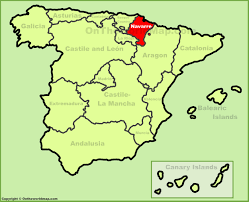 Pamplona Spain Map by Navarre Maps Spain Maps Of Navarre